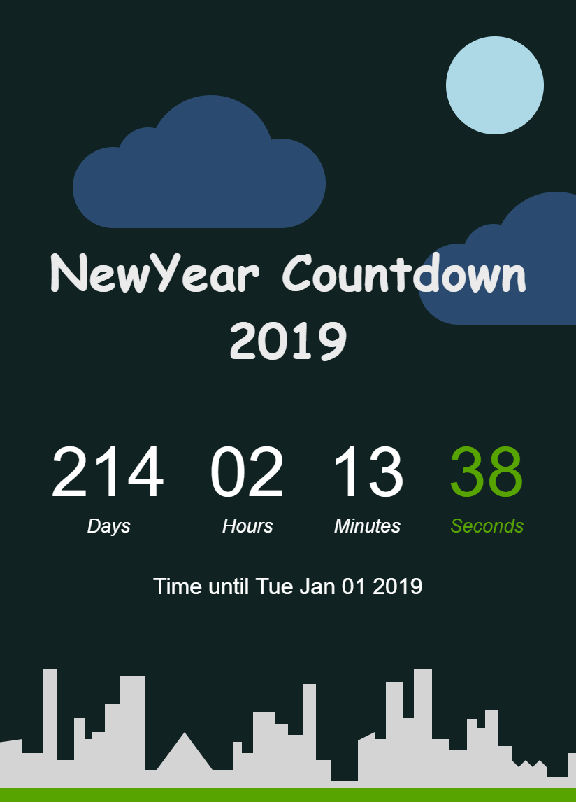 Newyear Countdown Preview